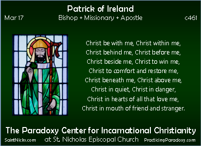 Mar 17 - Patrick of Ireland